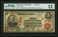 Milwaukee, WI - $5 1902 Red Seal Fr. 587 The First NB Ch. # (M)2715