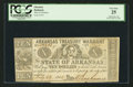 Obsoletes By State:Arkansas, (Little Rock), AR - Arkansas Treasury Warrant $10 July 23, 1862. ...