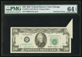 Error Notes:Foldovers, Fr. 2075-G $20 1985 Federal Reserve Note. PMG Choice Uncirculated64 EPQ.. ...