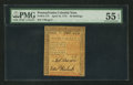 Colonial Notes:Pennsylvania, Pennsylvania April 10, 1775 50s PMG About Uncirculated 55 EPQ.. ...
