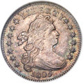 Early Dimes, 1805 10C 5 Berries, JR-1, R.3, MS62 NGC....
