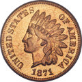 Proof Indian Cents, 1871 1C PR66 Red PCGS....