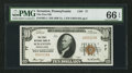 National Bank Notes:Pennsylvania, Scranton, PA - $10 1929 Ty. 1 The First NB Ch. # 77. ...