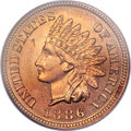 Proof Indian Cents, 1886 1C Type One PR66 Red PCGS....