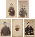 Photography:CDVs, John Wilkes Booth: Cartes-de-Visite. ... (Total: 5 Items)