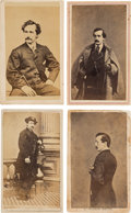 Photography:CDVs, John Wilkes Booth: Cartes-de-Visite.... (Total: 4 Items)