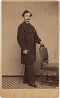Photography:CDVs, John Wilkes Booth: From-Life Carte-de-Visite. ...