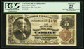 National Bank Notes:Pennsylvania, Corry, PA - $5 1882 Brown Back Fr. 471 The Citizens NB Ch. # 4479. ...