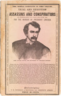 Miscellaneous:Ephemera, Lincoln Assassination: Conspirators Trial and Execution Ephemera.... (Total: 4 Items)