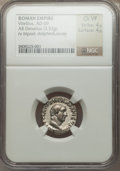 Ancients:Roman Imperial, Ancients: Vitellius (AD 69). AR denarius (3.52 gm). ...