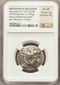 Ancients:Greek, Ancients: MACEDONIAN KINGDOM. Alexander III the Great (336-323BC).  AR tetradrachm (17.06 gm). ...