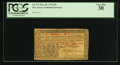 Colonial Notes:New Jersey, New Jersey February 20, 1776 30s PCGS Very Fine 30.. ...