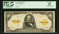 Large Size:Gold Certificates, Fr. 1200a $50 1922 Gold Certificate PCGS Apparent Very Fine 25.. ...