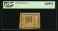 Colonial Notes:Delaware, Delaware May 1, 1777 9d PCGS Choice About New 58PPQ.. ...
