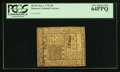 Colonial Notes:Delaware, Delaware January 1, 1776 20s PCGS Very Choice New 64PPQ.. ...