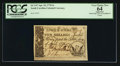 Colonial Notes:South Carolina, South Carolina April 10, 1778 5s PCGS Apparent Very Choice New 64.....
