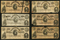 Confederate Notes:Group Lots, Ninety-six Confederate Notes.. ... (Total: 96 notes)