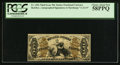 Fractional Currency:Third Issue, Fr. 1356 50¢ Third Issue Justice PCGS Choice About New 58PPQ.. ...
