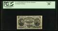 Fractional Currency:Third Issue, Fr. 1272SP 15¢ Third Issue Wide Margin Face PCGS Very Fine 30.. ...
