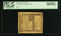 Colonial Notes:Pennsylvania, Pennsylvania April 3, 1772 18d PCGS Choice About New 58PPQ.. ...
