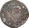 (1615-16) SHILNG Sommer Islands Shilling, Small Sail Fine 12 NGC. Breen-2, W-11460, R.5