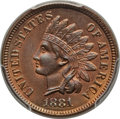 Indian Cents: , 1881 1C MS66 Red and Brown PCGS. PCGS Population (6/0). NGC Census: (24/1). Mintage: 39,211,576. Numismedia Wsl. Price for ...