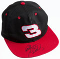 Miscellaneous Collectibles:General, Dale Earnhardt Sr. Signed Cap....
