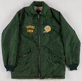 Football Collectibles:Uniforms, Early 1970's Green Bay Packers Worn Usher's Jacket from Lambeau Field....