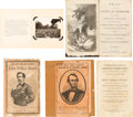 Miscellaneous:Ephemera, Lincoln Assassination and its Aftermath: Three Imprints and an Album.... (Total: 4 Items)