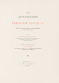 Miscellaneous:Ephemera, Lincoln Assassination: Osborn Oldroyd Book with Tipped-inEyewitness Letter. ...