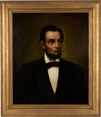 Abraham Lincoln: Oil on Canvas