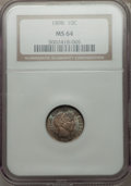 Barber Dimes: , 1898 10C MS64 NGC. NGC Census: (118/94). PCGS Population (107/117). Mintage: 16,320,735. Numismedia Wsl. Price for problem ...
