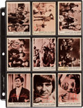Memorabilia:Trading Cards, The Monkees Trading Cards Sets (Donruss, 1966-68)....