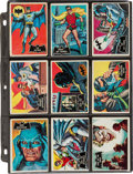 Memorabilia:Trading Cards, Batman Trading Card Sets Group (Topps, 1960s)....