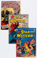 Golden Age (1938-1955):Western, All Star Western/All American Western Group (DC, 1949-60) Condition: Average GD/VG.... (Total: 9 Comic Books)
