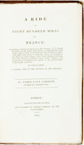 Books:World History, James Paul Cobbett. A Ride of Eight Hundred Miles in France... To which is Added, a General View of the Finances of the ...