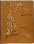 Books:Children's Books, [Charles Dickens]. Edric Vredenburg, editor. Children's Storiesfrom Dickens Re-Told by His Grand-Daughter and Others. ...