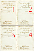 Books:World History, William Blackstone. Commentaries on the Laws of England, Vols. 1-4. Chicago & London: University of Chicago Pres... (Total: 4 Items)