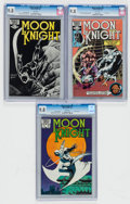 Modern Age (1980-Present):Superhero, Moon Knight #16, 17, and 27 CGC-Graded Group (Marvel, 1982-83) CGCNM/MT 9.8 White pages.... (Total: 3 Comic Books)