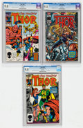 Modern Age (1980-Present):Superhero, Thor #357, 359, and 500 CGC-Graded Group (Marvel, 1985-96) CGCNM/MT 9.8 White pages.... (Total: 3 Comic Books)
