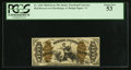 Fractional Currency:Third Issue, Fr. 1346 50¢ Third Issue Justice PCGS About New 53.. ...