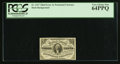 Fractional Currency:Third Issue, Fr. 1227 3¢ Third Issue PCGS Very Choice New 64PPQ.. ...