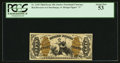 Fractional Currency:Third Issue, Fr. 1345 50¢ Third Issue Justice PCGS About New 53.. ...