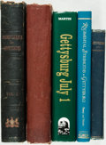Books:Americana & American History, [Civil War]. Group of Five Books about Gettysburg. Variouspublishers and dates. ... (Total: 5 Items)