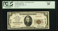 National Bank Notes:Wisconsin, Antigo, WI - $20 1929 Ty. 1 The First NB Ch. # 5143. ...