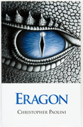 Books:Science Fiction & Fantasy, Christopher Paolini. INSCRIBED. Eragon. Livingston: PaoliniInternational LLC, [2002]....