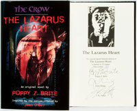 Poppy Z. Brite. SIGNED/LIMITED. The Crow™ The Lazarus Heart. G