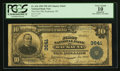 National Bank Notes:Wisconsin, Kaukauna, WI - $10 1902 Plain Back Fr. 626 The First NB Ch. # 3641. ...