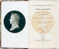Books:Biography & Memoir, Barry O'Meara. Napoleon in Exile; or, A Voice from St.Helena. London: W. Simpkin and R. Marshall, 1822. Fifthediti... (Total: 2 Items)