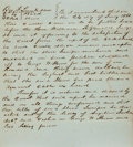 "Books:Americana & American History, Manuscript Slavery Bill of Sale Document. January 24, 1850.Petition describes a slave, Jennifer, who was ""struck off"" to on..."